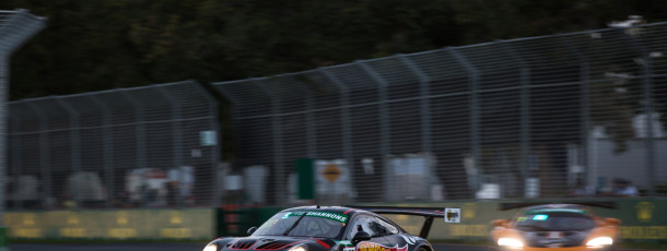 Talbot charges forward in Aus GP GT Race Two