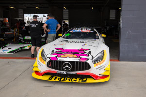 The Mercedes-AMG GT3 that Liam Talbot will take on the Mountain with