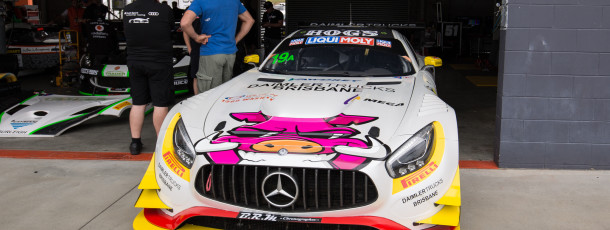 Liam to take on Mountain in MEGA Mercedes