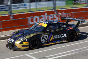 The MEGA Racing Porsche will make its debut in Townsville