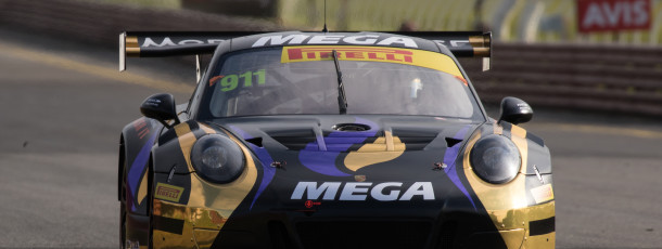 Talbot's MEGA Racer to start third in Aus GT decider