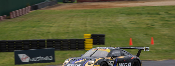 Talbot praises team and positives after challenging Sandown Aus GT