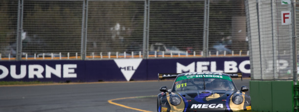 Talbot enjoying eventful first hit-out at Albert Park