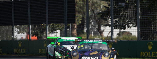 Talbot ends Aus GP race three in 10th after race long fight