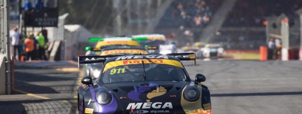 Talbot finishes first round of Aus GT with MEGA Racing 4th Overall